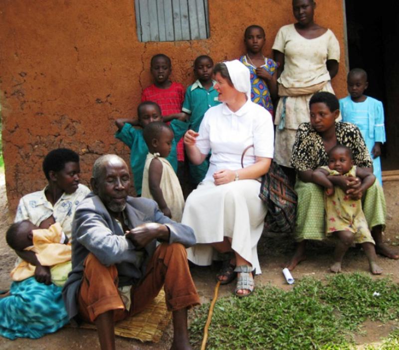 Sestra Vedrana Ljubić, misionarka u Ugandi